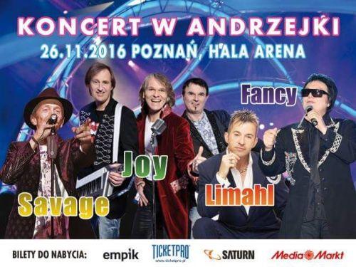 Koncert w Andrzejki